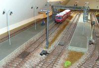 Bahnsteigbeleuchtung